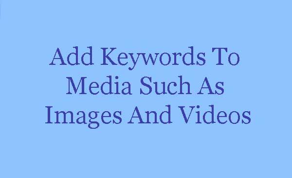 Alt Image Tag, Optimize Your Videos