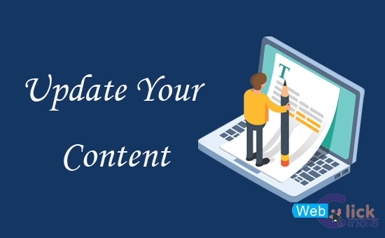 Update Your Content Regularly