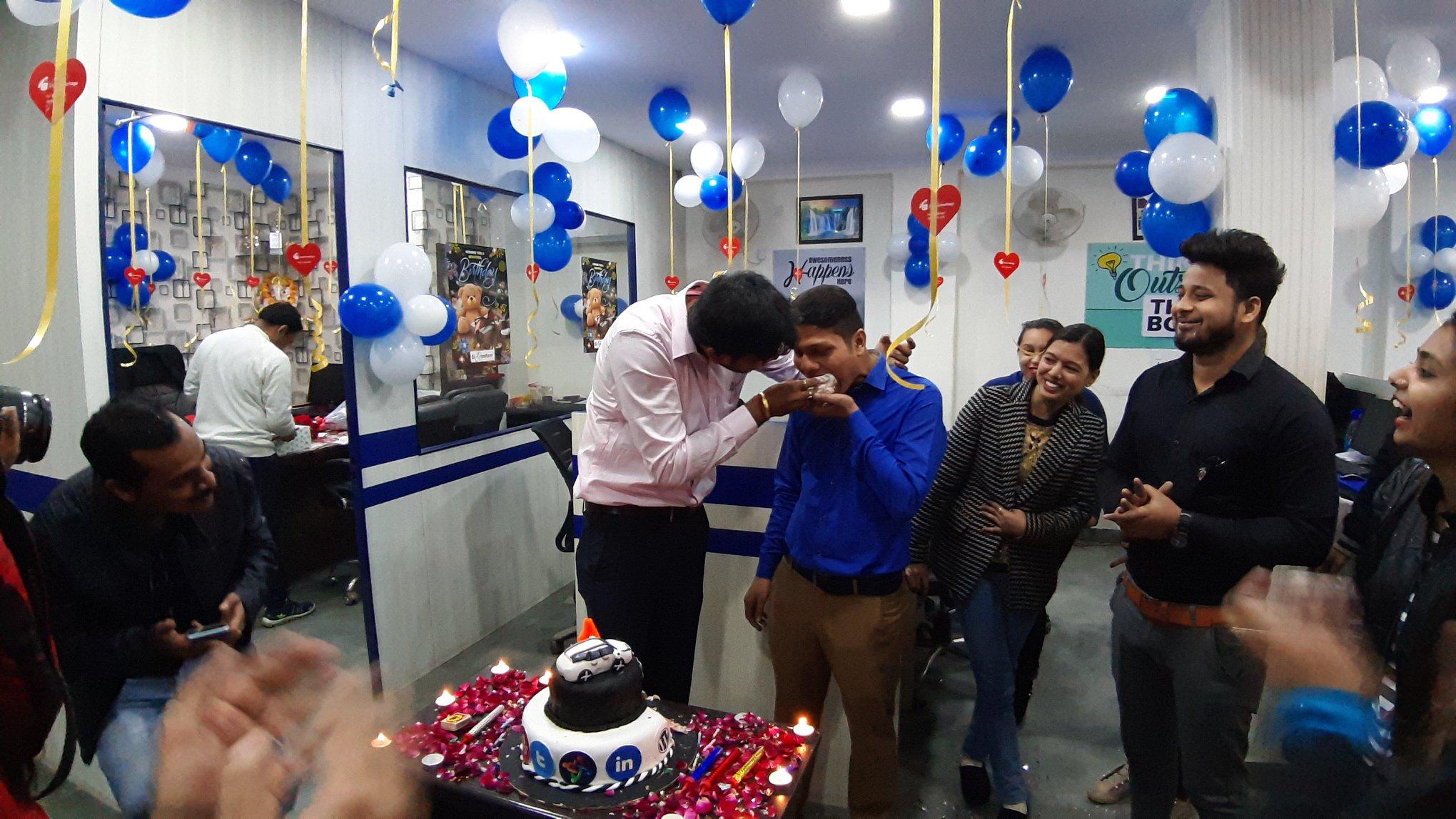 Webclick Digital Pvt. Ltd. Anniversary Cake