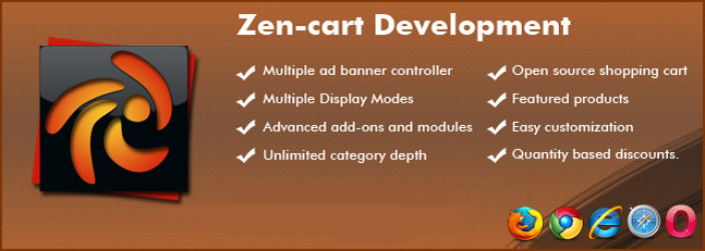 Zen Cart Development Company In Delhi India